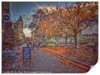 Autumn in Dickens Medway, Print