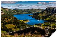 Lake Ullswater From St Sunday Ascent, Print