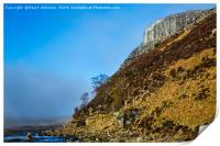 River Tees and Falcon Clints, Print