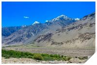Pamir Mountains in the Wakhan Valley #6, Print