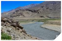 Pamir Mountains in the Wakhan Valley #11, Print