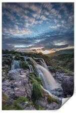 Sunset at Loup O FIntry, Print
