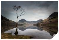 Buttermere Reflections, Print