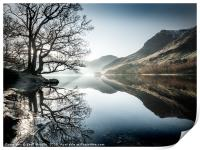 Buttermere, winter morning, Print