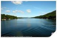 Windermere by boat, Print