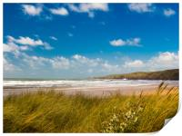 Freshwater West - White Surf, Print