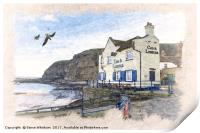Yorkshire Coast - Staithes Harbour, Print