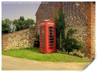 Red Phonebox, Print