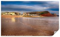 Sidmouth in the Early Morning, Print