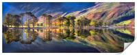 Summer Morning Reflections at Buttermere, Print