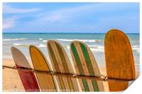 Surfboards for hire, Print