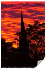Fire in the Sky, Print