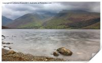 Wastwater to Scafell, Print