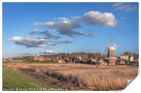 Cley next the Sea , Print