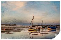 Peaceful end of Day  Digtal Art, Print