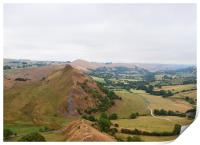 Park Hill from Chrome Hill, Print