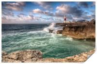 Portland Bill Lighthouse, Print