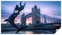 Tower Bridge, Print
