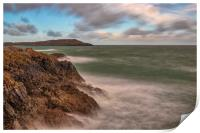 Cemaes Bay in Anglesey, North Wales, Print
