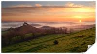 Colmer's Hill Panorama, Print