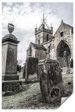 St.Michael's Parish Church, Linlithgow, Print