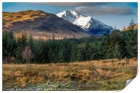 Ben Lui from Dalrigh, Print