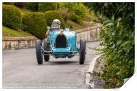 Bugatti Type35B at Circuit des Remparts, Print