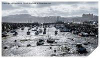 East Harbour, Scarborough, North Yorkshire, Print