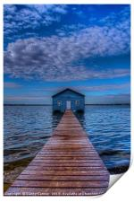 Boat Shed, Print