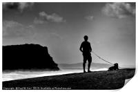Waiting for the waves ..., Print