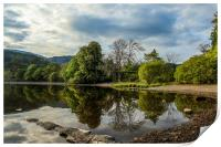Reflections on Coniston Water, Print