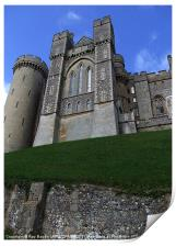 ARUNDEL CASTLE,SUSSEX, Print