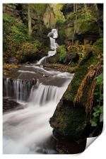 Lumsdale Valley Falls, Print