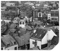 Whitby Roof Tops, Print