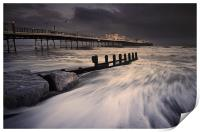 Worthing Pier Storm Force, Print