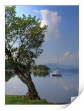 Ullswater in the morning, Print