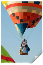 Hot Air Balloon show , Print