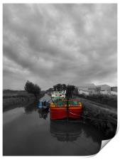 Sequana | Beverley Canal, Print