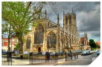 Holy Trinity Church Hull, Print