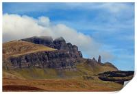 The Isle of Skye and the Old Man of Storr, Print