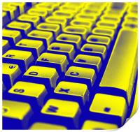 Abstract keyboard, Print