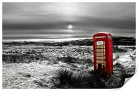 The Red Phone Box, Print