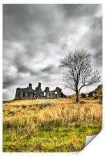 The Old Ruin, Print