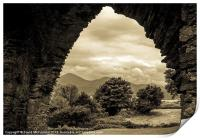 Mourne view arch, Print