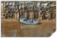 Tyred Boat 2013, Print