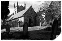 Mawnan Smith Parish Church, Print