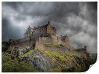 Edinburgh Castle Scotland, Print