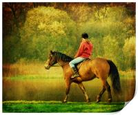A Gentle Canter, Print