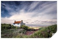 House at Brancaster Staithe, Print