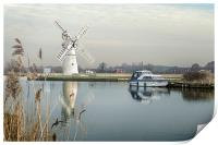 Thurne Mill, Print